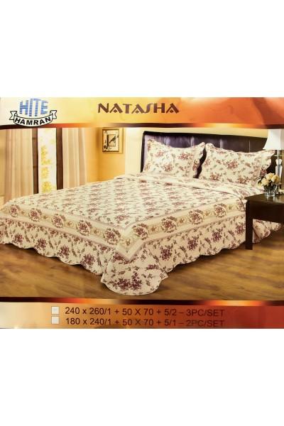 Застилайте кровать Покрывалом NATASHA Цветы 240x260 ⚜ ведь это самый видимый текстиль!