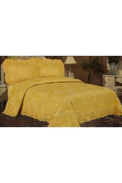 Застилайте кровать Покрывалом ⚜ Blue Marina 240x260 ⚜ - ведь это самый видимый текстиль!