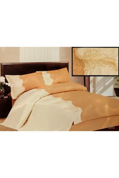 Комплекты постельного белья  ⚜ Blue Marina Вышивка ⚜. Постельное белье. КПБ