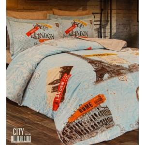 Комплект постельного белья Romeo Soft Classik City