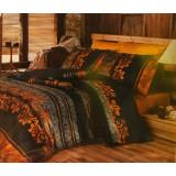 Комплект постельного белья Romeo Soft Classik Black and Gold