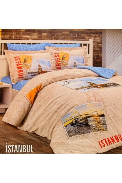 Комплекты постельного белья  ⚜ Romeo Soft Ranforce ISTAMBUL ⚜. Постельное белье. КПБ