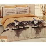 Комплект постельного белья Romeo Soft Ranforce Istambul Bej