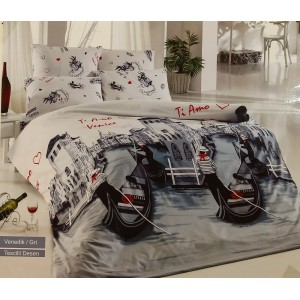 Комплект постельного белья Romeo Soft Ranforce Veneciya