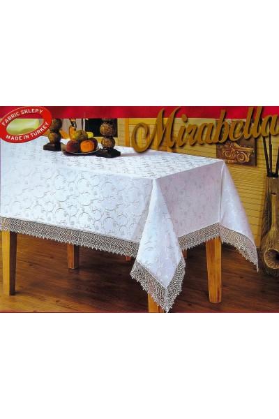 Скатерти тефлоновые и кружевные Mirabella KDK 160*350 ➲ Скатерти на столы любого размера!